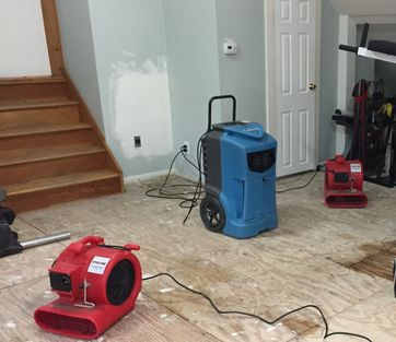 Water Damage inValhalla, NY from Leaking Water into Laminate and Rubber Flooring (2)